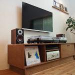 オーディオも入るテレビボード