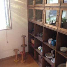コレクション食器棚