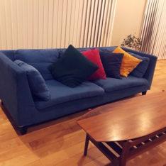 カバーリングソファで簡単模様替え