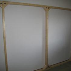 マンションの壁製作工事