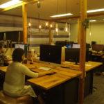 新卒採用時、オフィスの雰囲気はとても大事。完成したあとも引き続き相談できるのがいい。