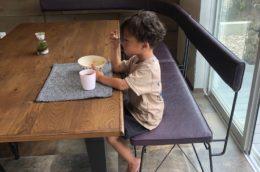 dinning bench-side