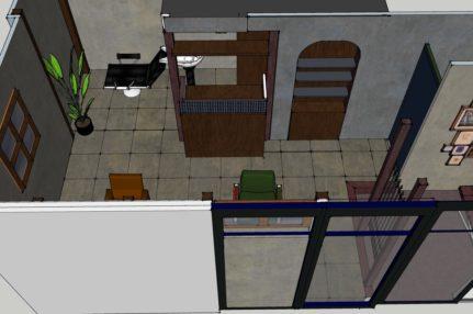 ショップデザイン美容室