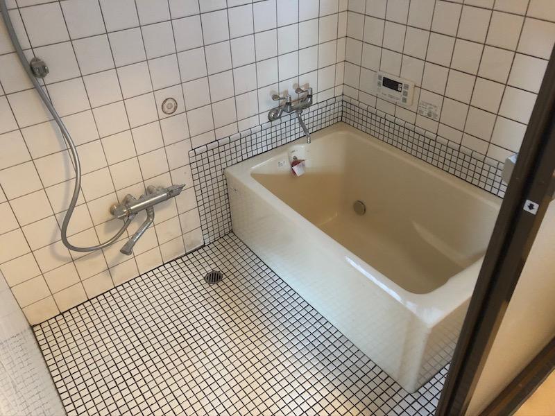 レトロタイルお風呂