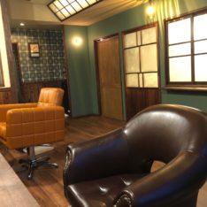 レトロ満載な美容室「モルンヘア」at 常滑